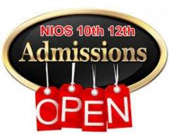 Online Admission Start 10th & 12th class through NIOS@9990177264