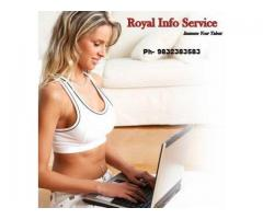 •	Work From Home Job Available