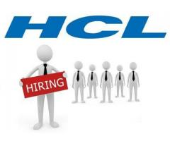 HCL HIRE SOFTWARE ENGINEER