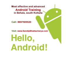 Most advanced Android Application Development training in Behala