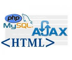 Huge vacancies for fresher PHP developers-Get trained today on PHP MySQL, JQUERY, AJAX technologies