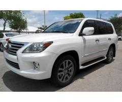 FOR SALE : Urgent Sale of 2015 Lexus LX 570 Model SUV GCC 15,000 Euro