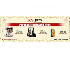 Personalized Photo Diwali Gifts Zestpics, Starts from Rs.99