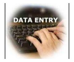 find data entry form filling project.for 5 PC
