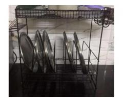 Utensil stand stainless steel