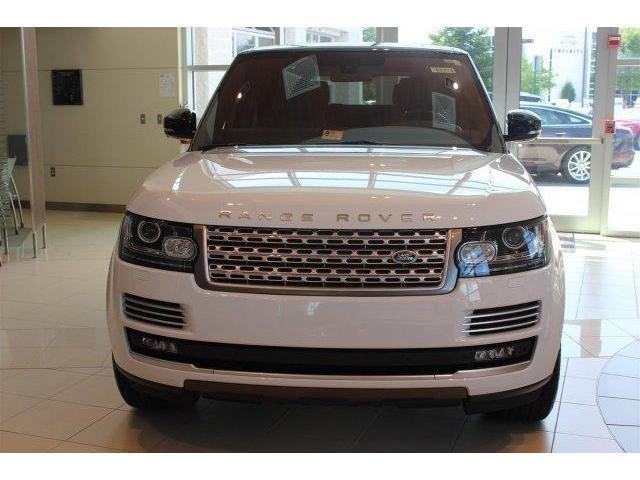 White 2014 Land Rover Range Sport