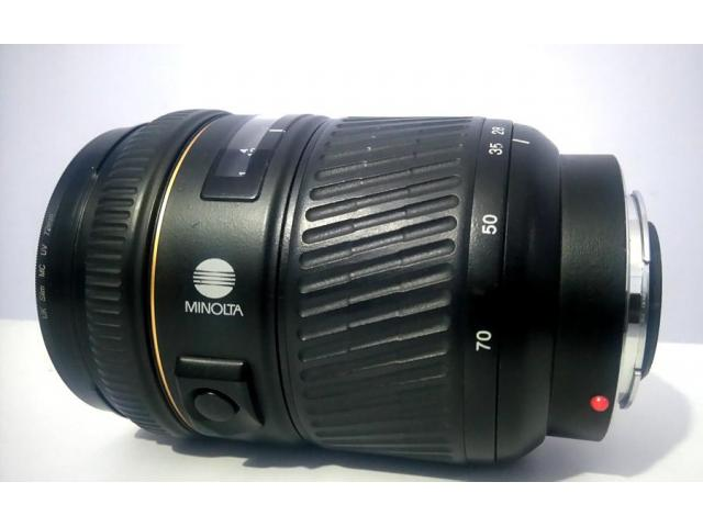 Minolta 28-70 f2.8 G lens