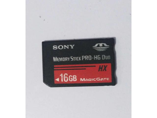 Sony 16GB HG DUO memory card