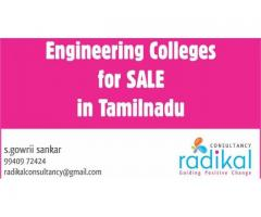 Engineering Colleges for SALE in All over Tamilnadu