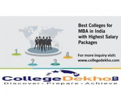 Find Best MBA Colleges in India at one place