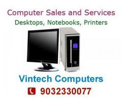 We do all computer repair services & network issue solutions at door step