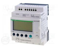 SCHNEIDER ELECTRIC SR3B102BD;10 I/O;24VDC;Zelio Logic;Transitor Out