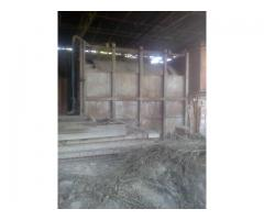 Shuttle kiln furnace