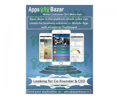 Looking Co-Founder and CEO for Apps Bazar