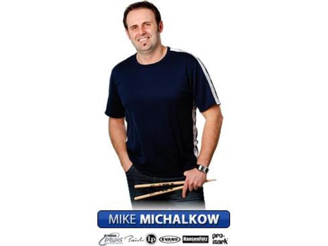 Drumming system DVD and books by Mike Michalkow