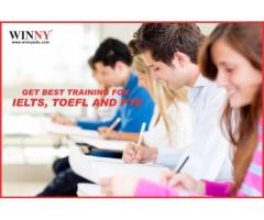 GET BEST TRAINING FOR IELTS, TOEFL AND PTE