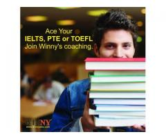 Ace Your IELTS, PTE or TOEFL. Join Winny's coaching