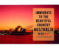 Immigrate to the beautiful country- Australia