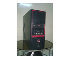 i3 DESKTOP WITH GRAPHIC CARD AND LOGITECH SPEAKER IN WORKING CONDITION