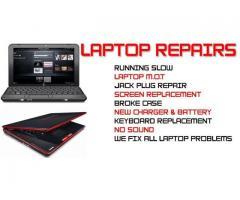 DESKTOP /LAPTOP REPAIR INSTALL NETWORK AND SOFTWARES SERVICE