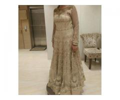 Designer Golden Color Gown