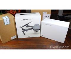 dji mavic pro 4k camera drone ready to fly