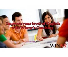 Improve your level of English with Winny's Coaching