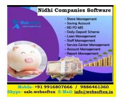 Producer Company, Nidhi Gold Loan Software, Automated Nidhi Software