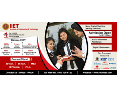 Courses Offered in Engineering & Technology – IET College Rajasthan
