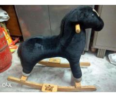 Kids toy- Rocking Wooden Horse