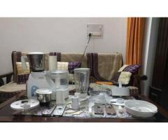Usha 2663 600-Watt Food Processor (White) Food