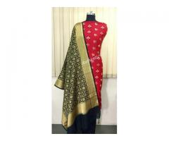 Buy Banarasi Tanchui Saree Online for Rs 1795 on Vynam.in