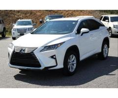F/S : LEXUS RX 350 WHITE 2016 SUV FULL OPTION.