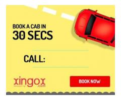 Reliable cab service in Bangalore , xingox.com