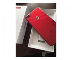 For Sale : Apple iPhone 7 Plus 256GB  RED Special Edition/ Samsung Galaxy S8 Plus