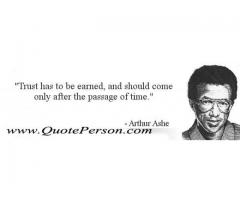 Arthur Ashe | Education, Love , Success Motivational | Inspirational |  Trust Quoteperson