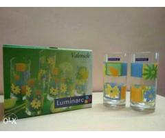 Luminarc 6 piece glass sets