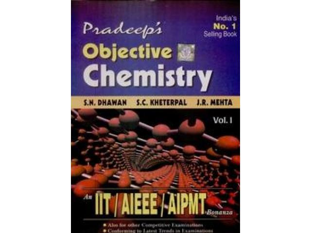 pradeep's objective chemistry both vol1&2.