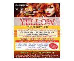 Yellow Beauty parlour and Salon in Bharthana - New City light
