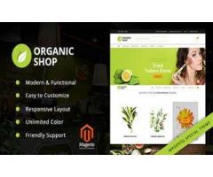 Organic Shop Responsive Magento2 Theme by zozothemes