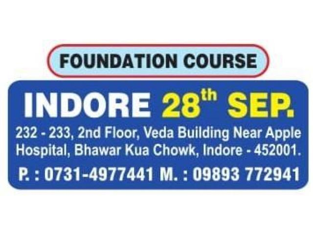 NEW BATCHES FOR GENERAL STUDIES IN INDORE