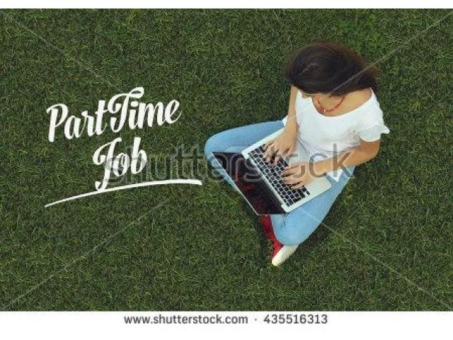 Hurry Part Time Job Available