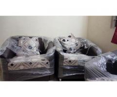 Five Seater Sofa Set (Blackish Brown)