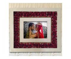Photo Frame - Pearls & Petals