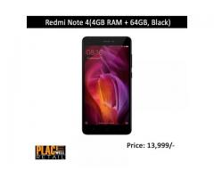 Bye Online Redmi Note 4(3GB RAM + 32GB, Black) | Placewell Retail