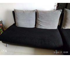 L-Shaped Large Sofa-Cum-Lounger