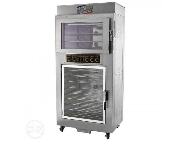 Nu-Vu proofer and oven