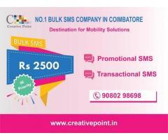 Bulk SMS Gateway Providing Company in Coimbatore