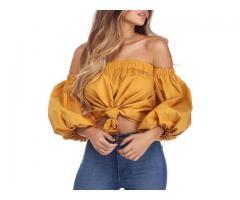 Bodysuit Shirt - Off The Shoulder