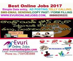 Best Part Time Home Based Online Data Entry Jobs Madhu 8801056393